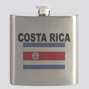 Costa Rica Flag Flask