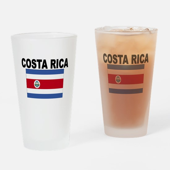 Costa Rica Flag Drinking Glass