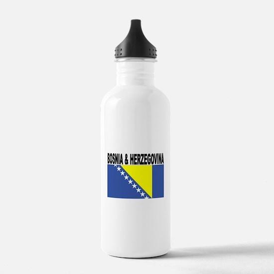 Bosnia and Herzegovina Flag Water Bottle