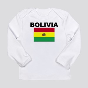 Bolivia Flag Long Sleeve T-Shirt