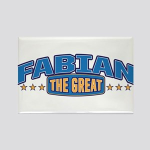 The Great Fabian Rectangle Magnet