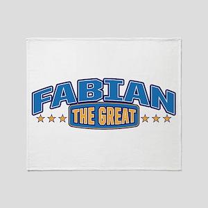 The Great Fabian Throw Blanket