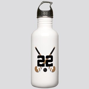Field Hockey Number 22 Stainless Water Bottle 1.0L