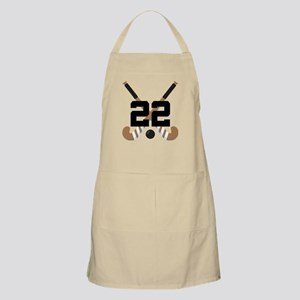 Field Hockey Number 22 Apron