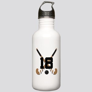 Field Hockey Number 18 Stainless Water Bottle 1.0L