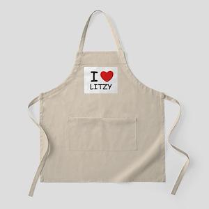 I love Litzy BBQ Apron