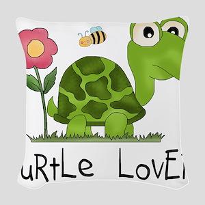 turtleloverr Woven Throw Pillow