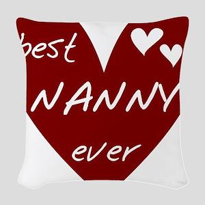 redbesNANNY Woven Throw Pillow