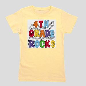 4th Grade Rocks Girl's Tee