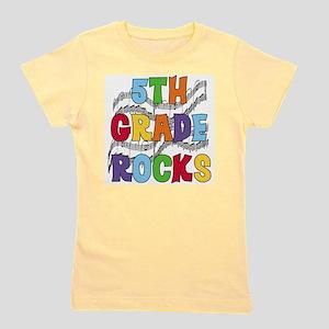 5th Grade Rocks Girl's Tee