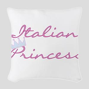 CRITALIANPRINCESS Woven Throw Pillow