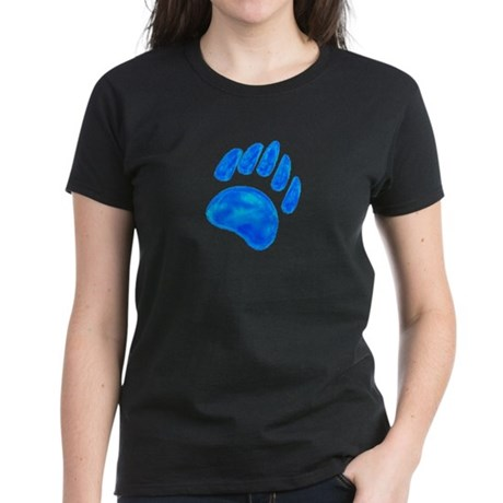BLUE BEAR PAW Women's Dark T-Shirt