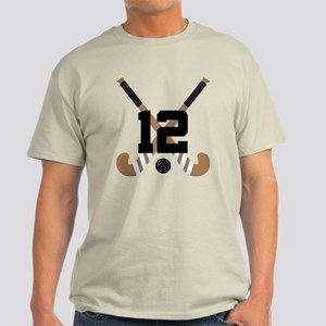 Field Hockey Number 12 Light T-Shirt