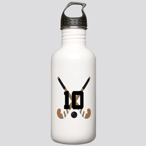 Field Hockey Number 10 Stainless Water Bottle 1.0L