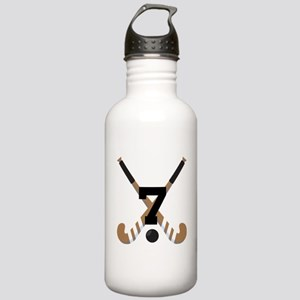 Field Hockey Number 7 Stainless Water Bottle 1.0L