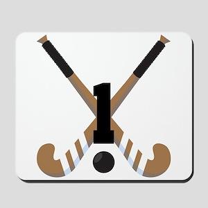Field Hockey Number 1 Mousepad
