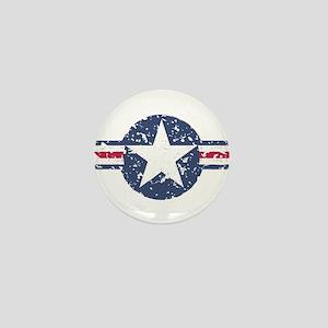 Faded Air Force Logo Mini Button