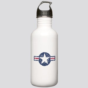 Faded Air Force Logo Water Bottle