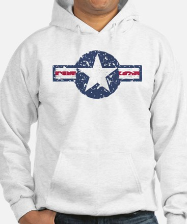 Faded Air Force Logo Hoodie