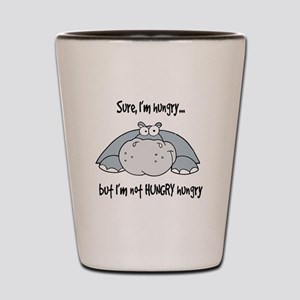Hippo Hungry Shot Glass