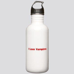 I Love Vampires Water Bottle
