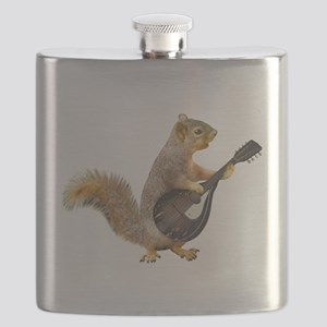 Squirrel Mandolin Flask