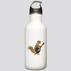 Squirrel Mandolin Water Bottle