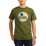Blue Clover Records - Organic Men's Dark T-Shi