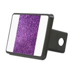 Purple faux glitter Rectangular Hitch Cover