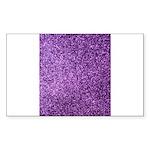 Purple faux glitter Sticker