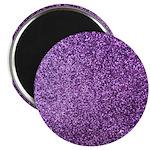 Purple faux glitter 2.25