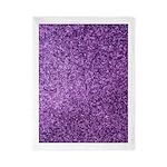 Purple faux glitter Twin Duvet