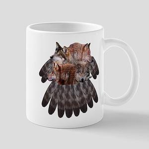 4 Wolves Dreamcatcher Mug