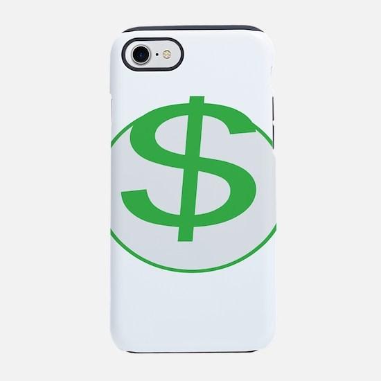 $$$$! Money! Dollar sign! iPhone 7 Tough Case