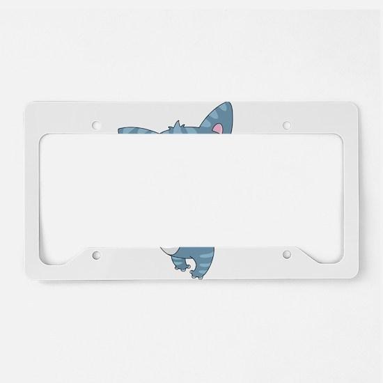 Unique Grumpy cat License Plate Holder