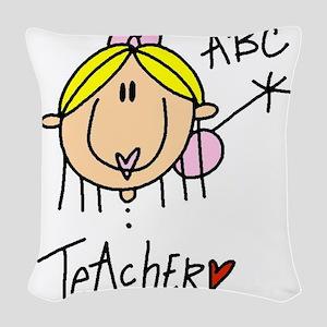 headteacher Woven Throw Pillow