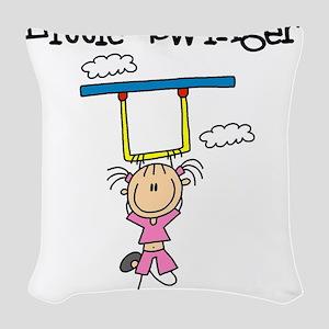 LITTLESWINGRL Woven Throw Pillow