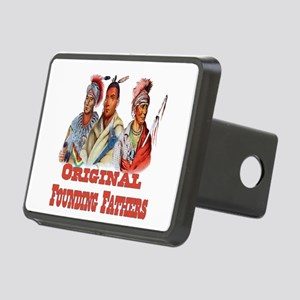 Original Founding Fathers Rectangular Hitch Cover