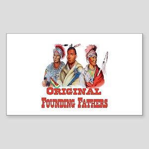 Original Founding Fathers Sticker (Rectangle)