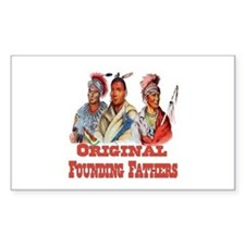 Original Founding Fathers Sticker (Rectangle)