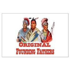Original Founding Fathers Large Poster