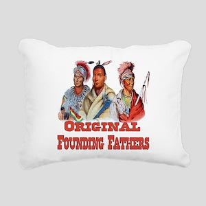 Original Founding Father Rectangular Canvas Pillow