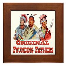 Original Founding Fathers Framed Tile