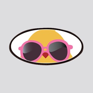 Chick Wearing Sunglasses Patches