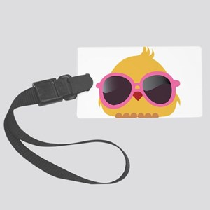 Chick Wearing Sunglasses Luggage Tag