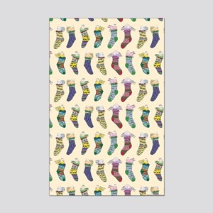 Cynthia Bainton Holiday Gift Wrap-Socks MINI SHEET