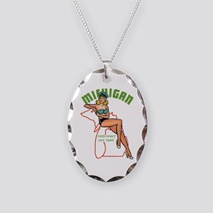 Michigan Pinup Necklace