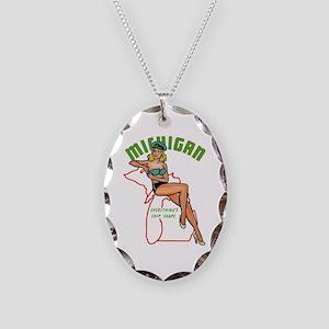 Michigan Pinup Necklace