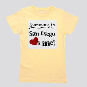 San Diego Loves Me Girl's Tee