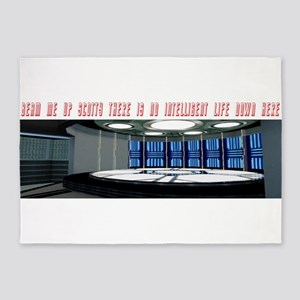Beam me up 5'x7'Area Rug